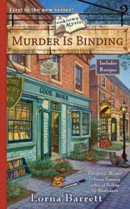 The Book Chick Blog|One Minute Book Review| Murder is Binding by Lorna Barrett